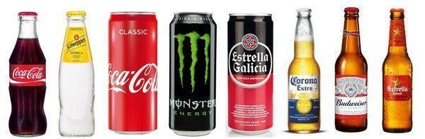 Principales productos en el mercado paralelo de bebidas. Parallel trading.