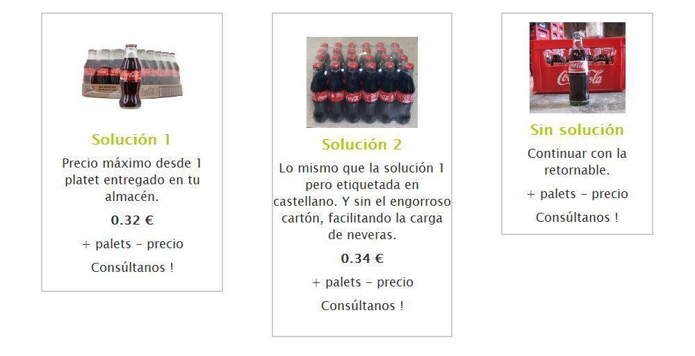 SOLUCIONES ENVASES COCA-COLA