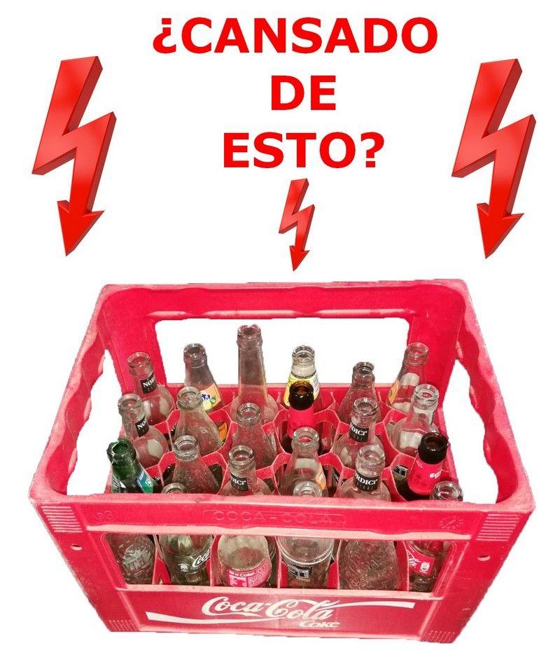 CAJA ENVASE COCA-COLA MAL SELECCIONADOS